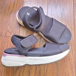 Zara chunky platform sandals size 37